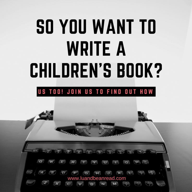 So you want to write a children's book?