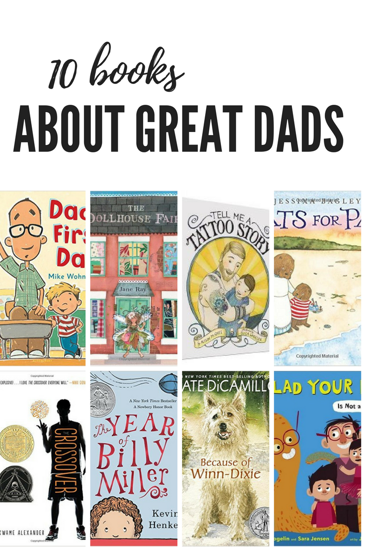 10 books to share with dad