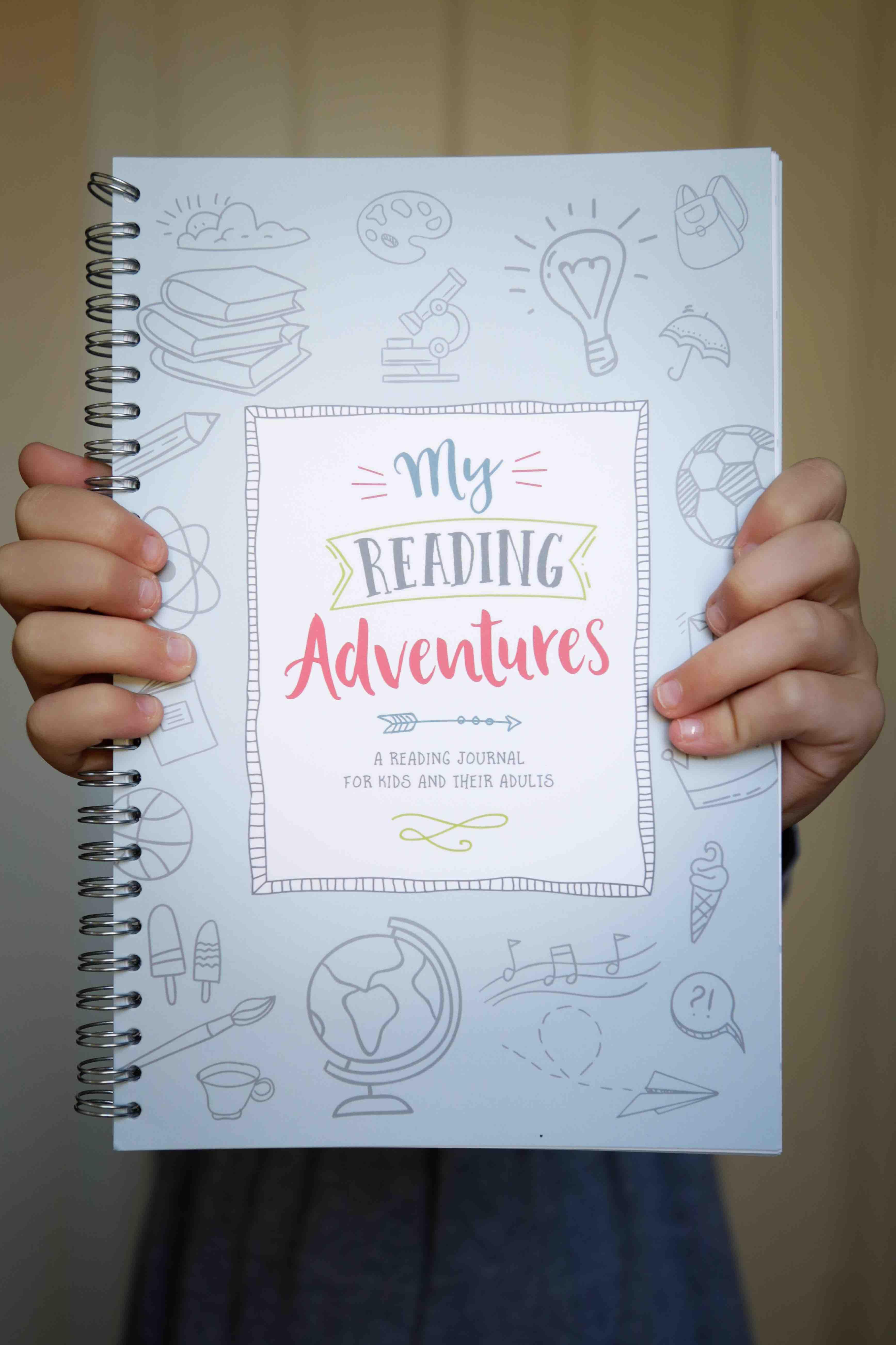 My Reading Adventures Kids Reading Journal