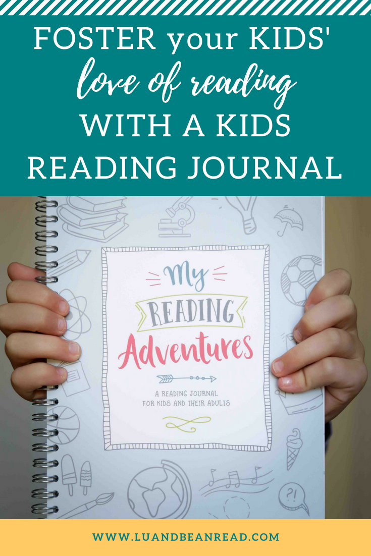 Kids reading journal