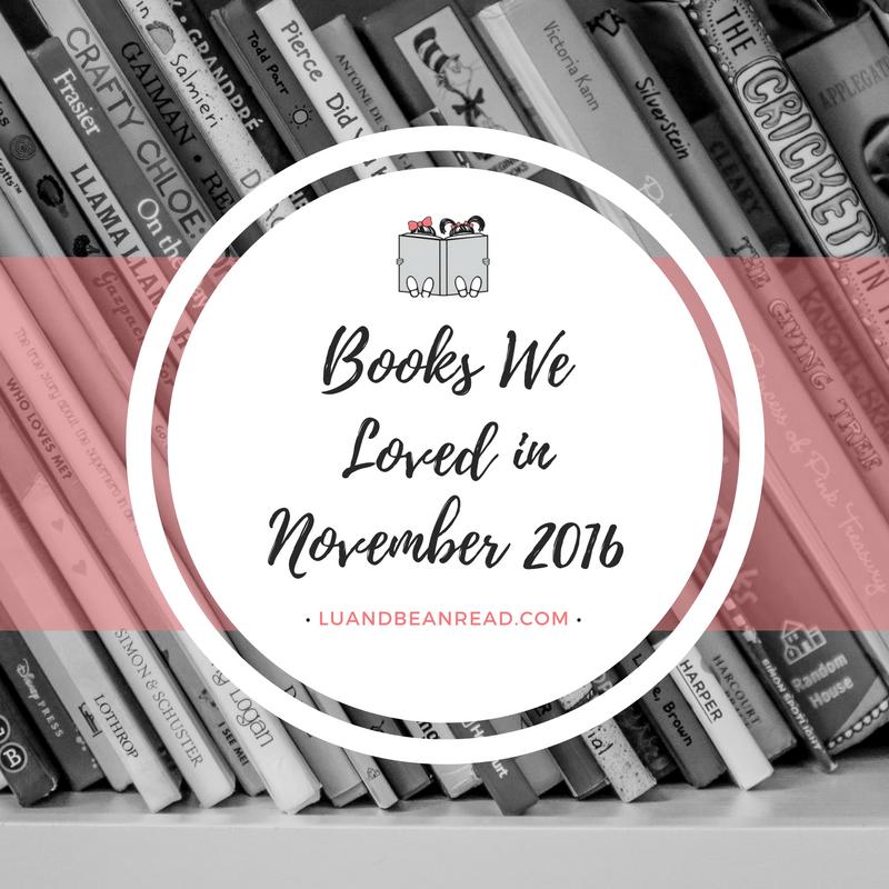 Books We Loved November 2016