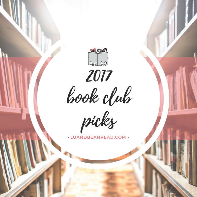 2017 book club picks