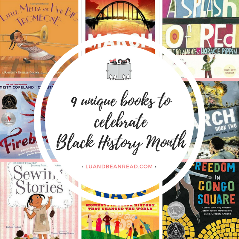 books to celebrate Black History Month