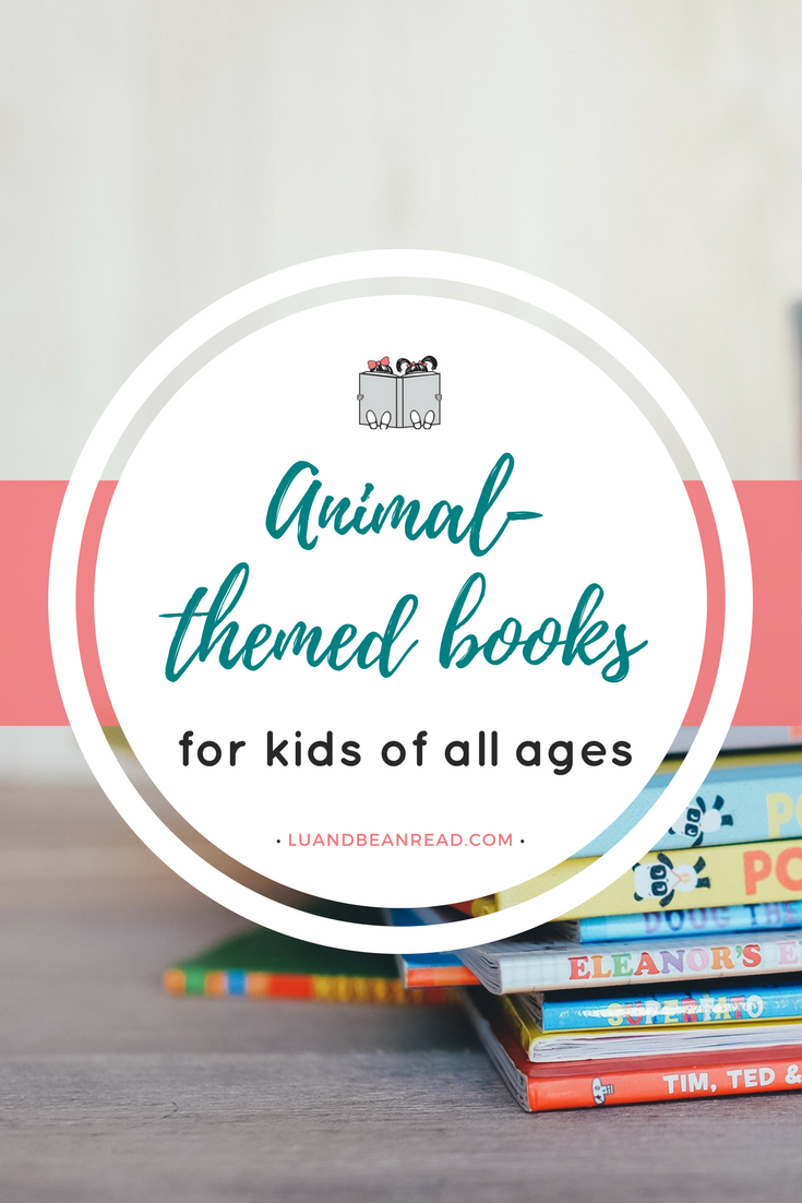 Animal themed books summer book boxes