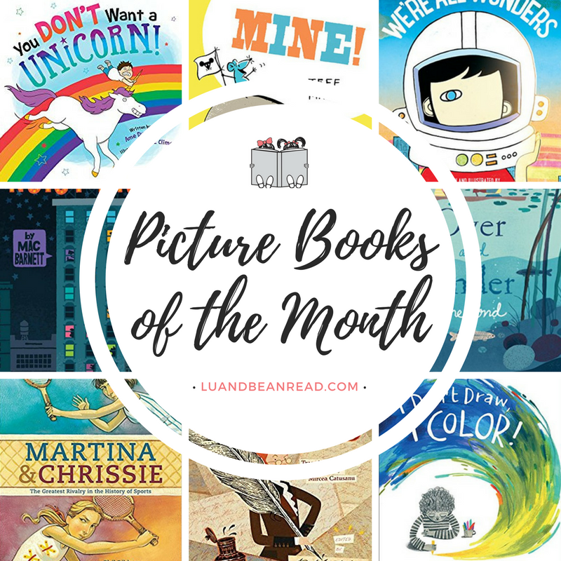 May 2017 picture books