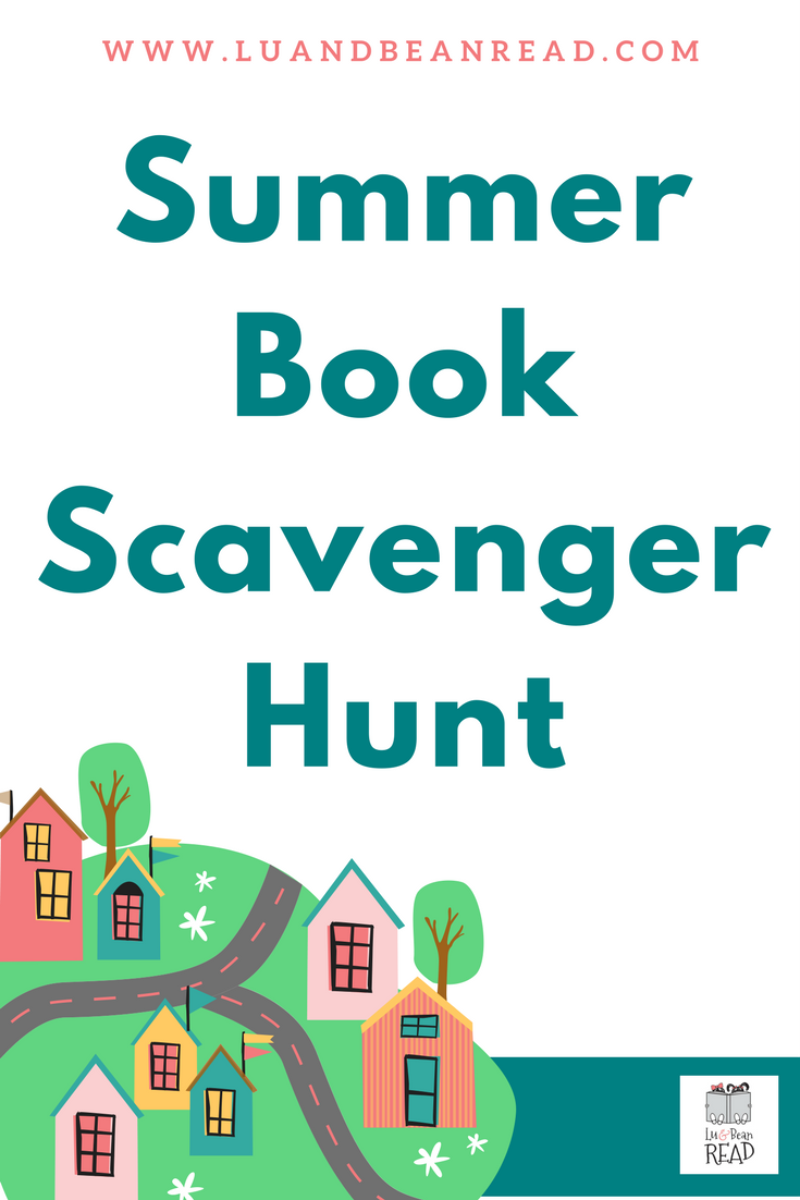 Summer Book Scavenger Hunt