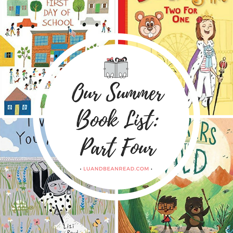 Kids books about summer
