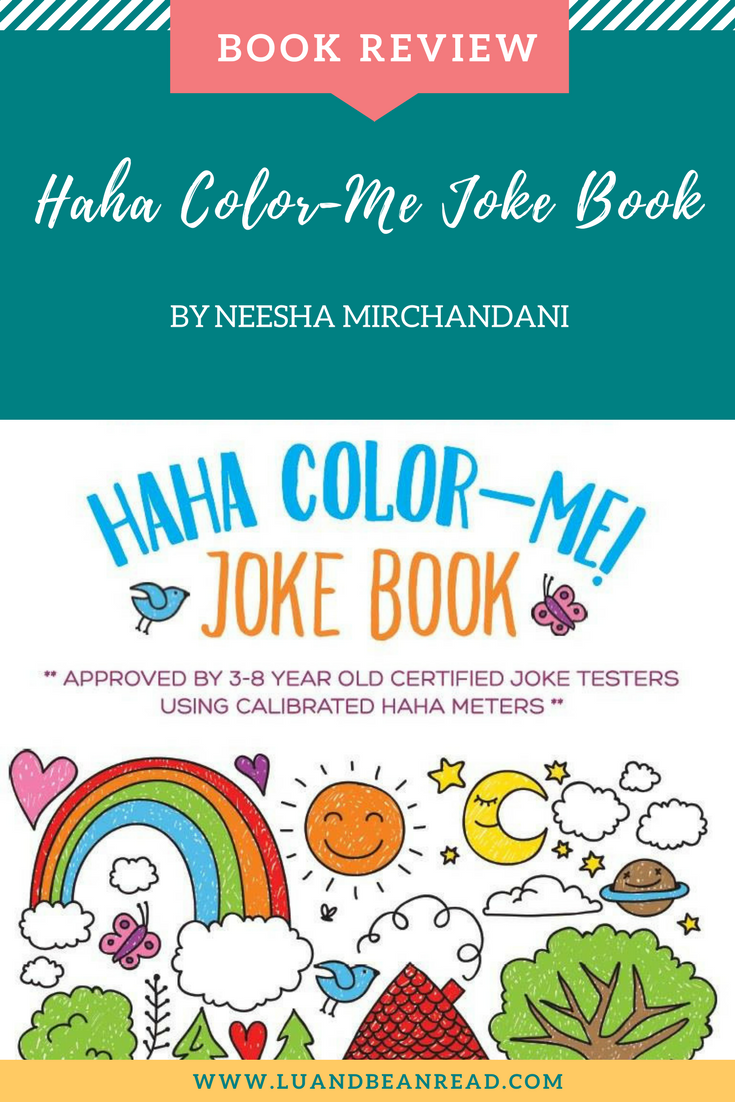 Book review: Haha Color-Me Joke Book - Lu and Bean Read