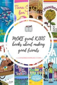 Covers of kids books about making friends