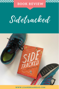 Sidetracked cover with running shoes